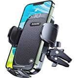 Anwas Car Phone Holder [Ultra Sturdy Screw-Locking], Cell Phone Mount for Car Air Vent, [Big Phone and Thick Cases Friendly]