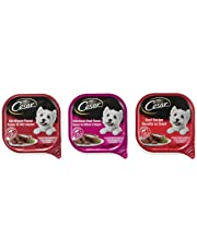 Cesar Entrées Food Trays for Dogs - Beef - Filet Mignon - Porterhouse - 100g (18 Pack)