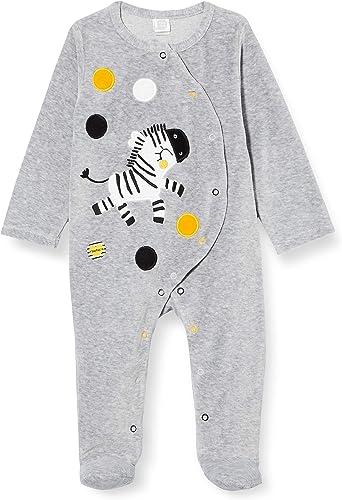 Tuc Tuc Pelele Tundosado Stripes and Dots Mamelucos para bebés y niños pequeños