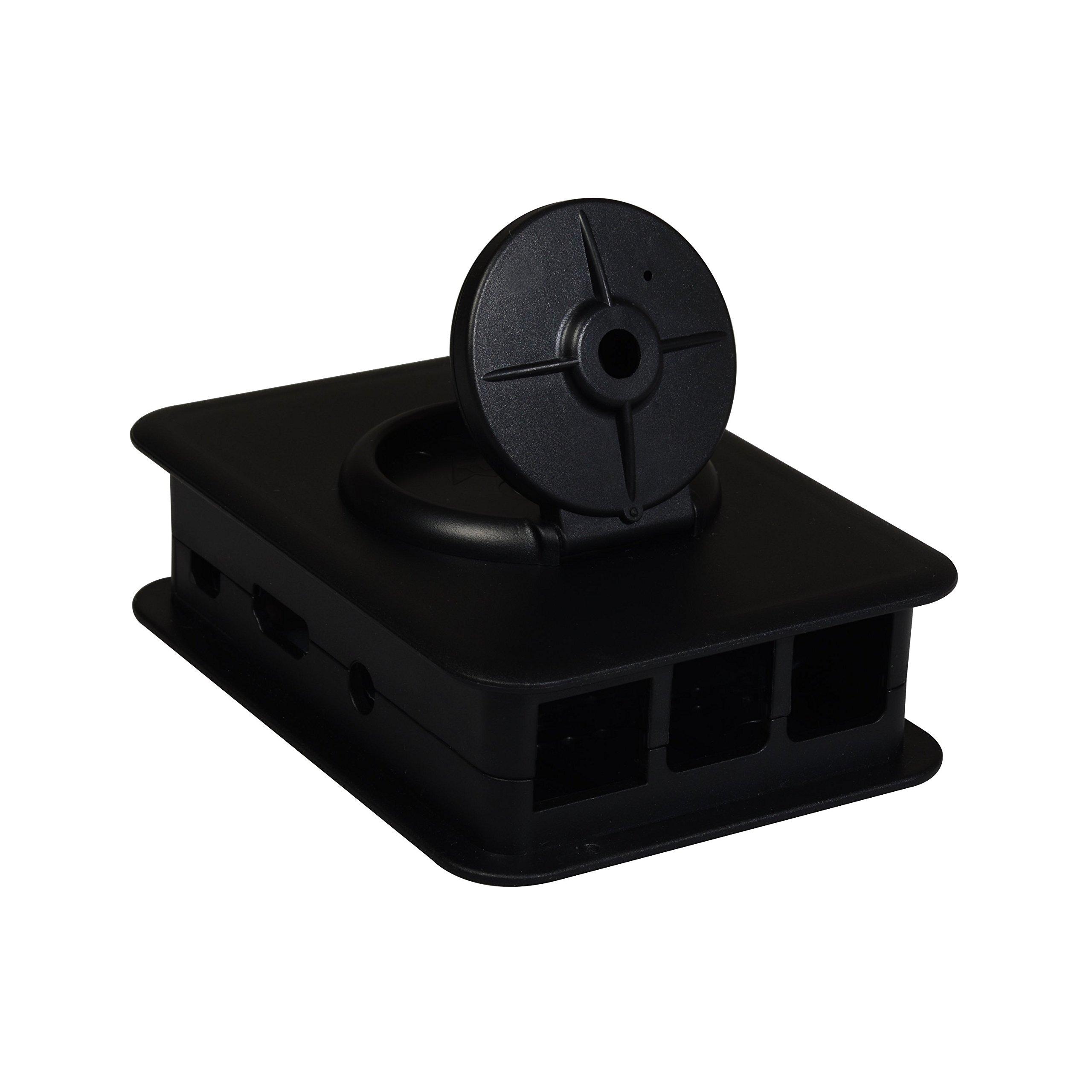 TEK-CAM3: Your Raspberry Pi + Camera Module Case (Pi3, Pi2, and B+) - Black