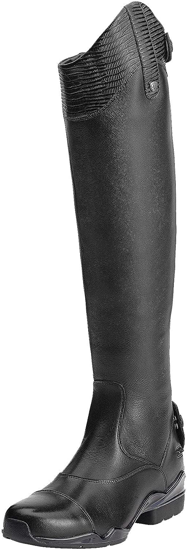 ARIAT Womens Volant S Zip Tall Riding Boot Black Size 8 B//Medium Us