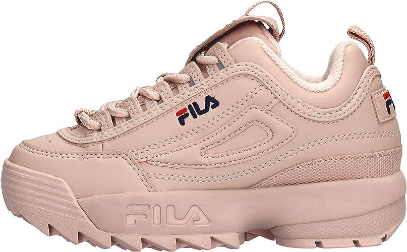 Fila Sneaker 1010567 Disruptor KDS Weiss Madchen