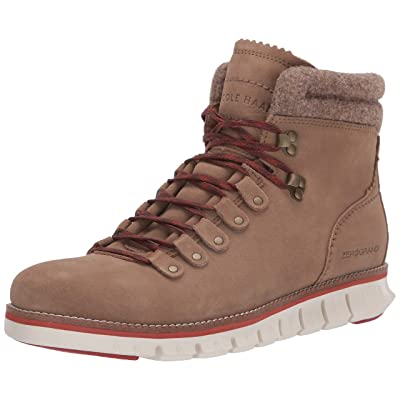 Cole Haan Men's Zerogrand Hiker Waterproof Fashion Boot, Wp Transient Suede, 7.5 M US | Hiking Boots