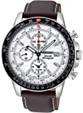 Seiko Men's SSC013 White Dial Watch