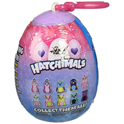 "Hatchimals Glittering Garden Mini Plush 2"" Clip On Mystery Egg: Toys & Games"