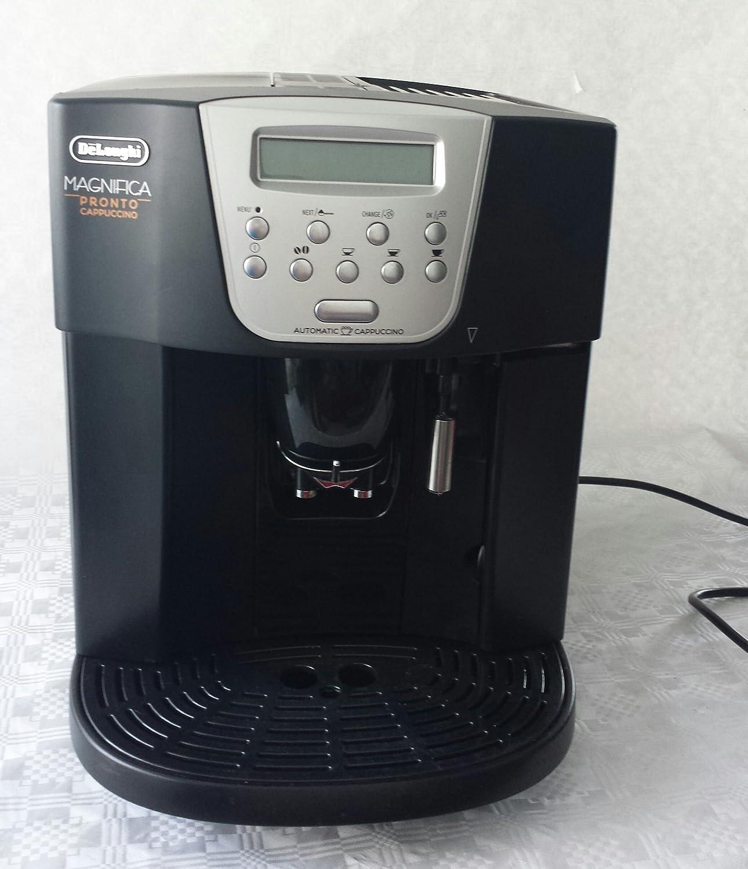 DeLonghi Magnifica ESAM 4500, Plata, 1350 W, 220-240 MB/s, 50/60 Hz, 285 x 375 x 360 mm, 10500 g - Máquina de café: Amazon.es: Hogar