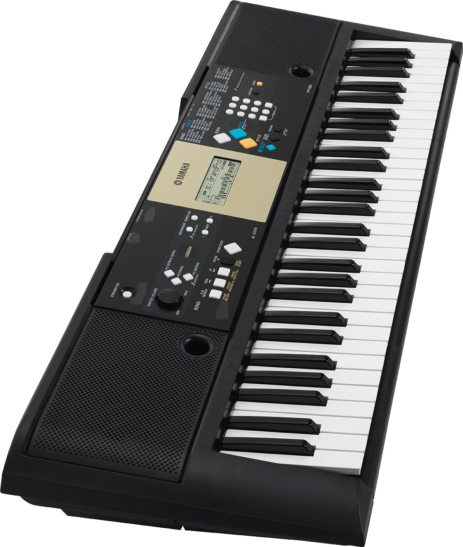 Yamaha Ypt220 Clavier Arrangeur Non Dynamique 61 Touches 5 W Noir Amazon Fr Instruments De Musique