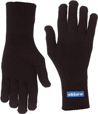 adidas - Guantes para Smartphone Negro Negro y Azul Talla:Large: Amazon.es: Ropa y accesorios