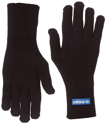 adidas - Guantes para Smartphone Negro Negro y Azul Talla:Large ...