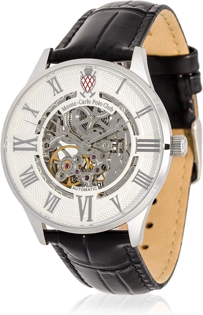 Monte-Carlo Polo Club - Reloj automático para Hombre con Esfera ...