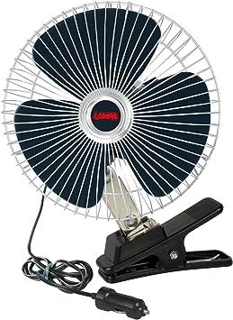 Lampa 73111 Ventilador Chrome Fan, 12 V.: Amazon.es: Coche y moto