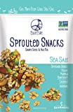 Blue Bike Sprouted Snacks, Sea Salt, Seed and Nut Mix, Gluten-Free, Vegan, Non-GMO, 5-ounce bag