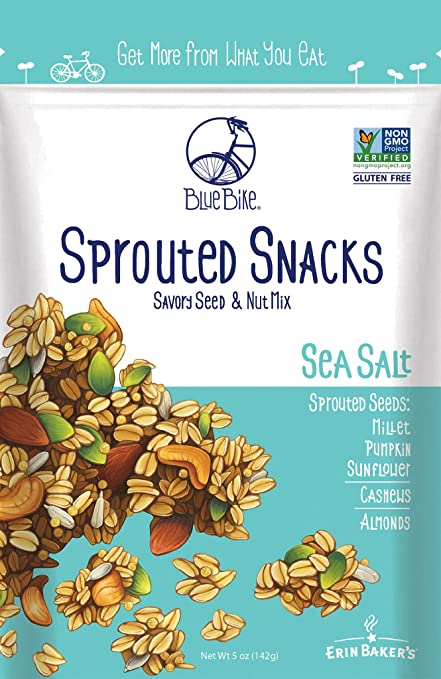 Blue Bike Sprouted Snacks Savory Seed & Nut Mix