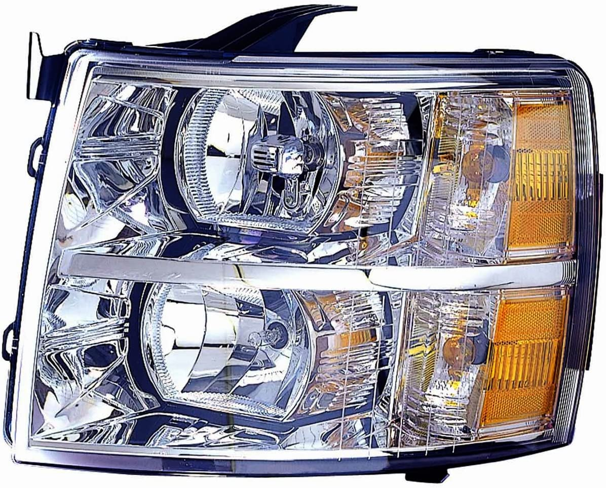 DEPO 335-1145L-AC Replacement Driver Side Headlight Assembly