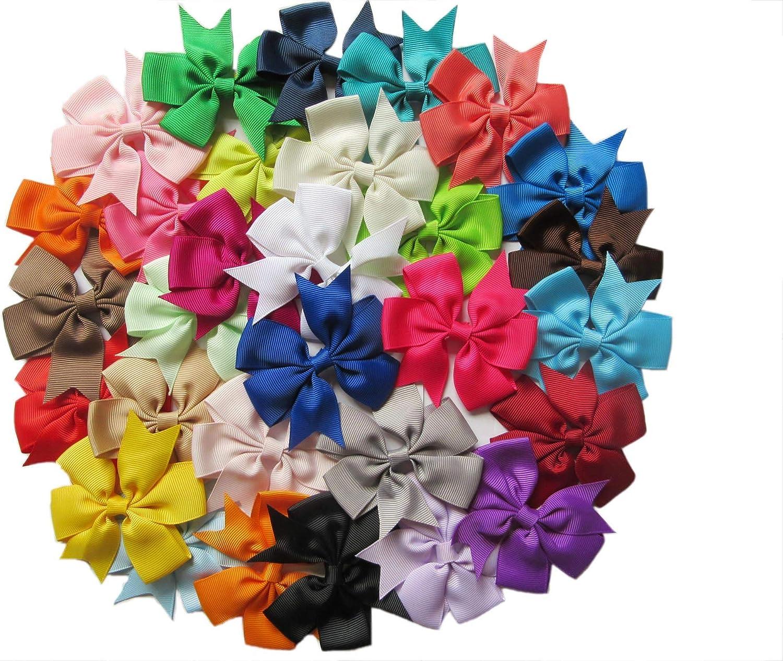 Hair Bow Tutorial | Mini hair bows, Hair bow tutorial, Hair bows | 1199x1500
