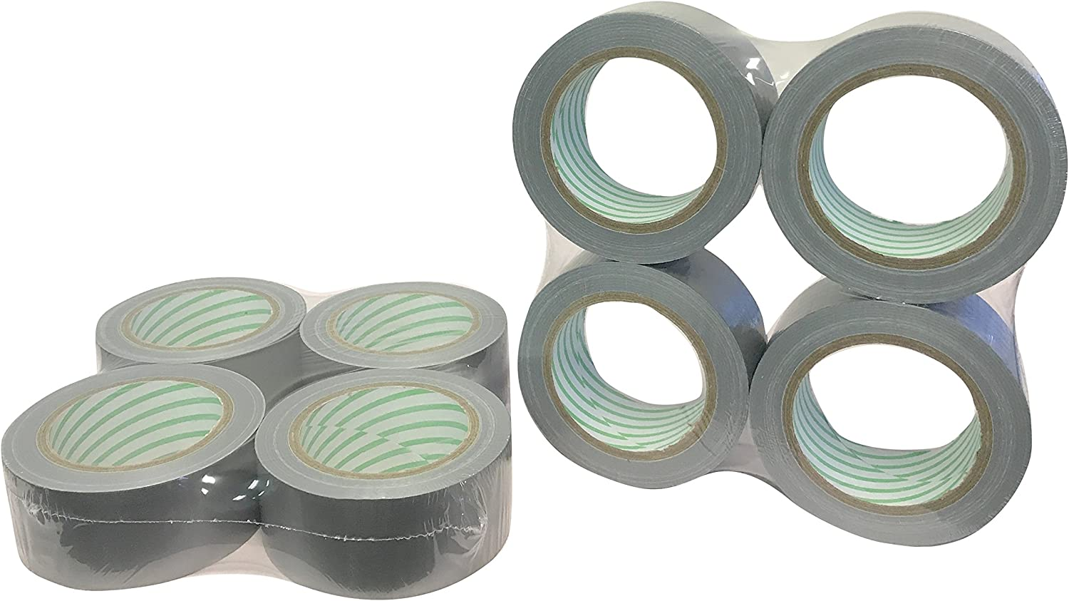 Multi-Purpose Duct Tape 2 inch x 30 yd 8 Pack 7 mil Direct Explorer Brand