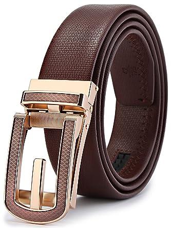 prezzo di fabbrica estetica di lusso grande varietà BULLIANT Cintura Uomo Pelle Automatico Cintura Per Uomo Vestito  35MM-Dimensioni Regolabili