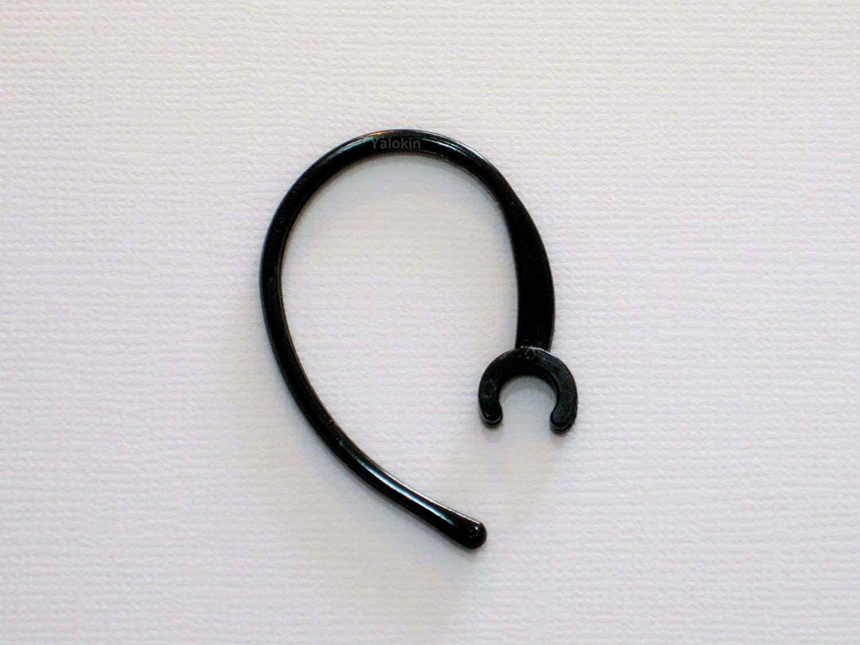 1 Black Ear Hook Ear Loop for Motorola Bluetooth Headset Hk100 Hk200 Hk201 Hk202
