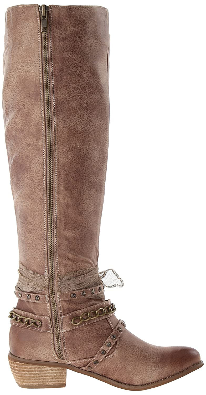 Not Rated Women's Tutsan Riding Boot B00JH4G59K 6.5 B(M) US|Taupe