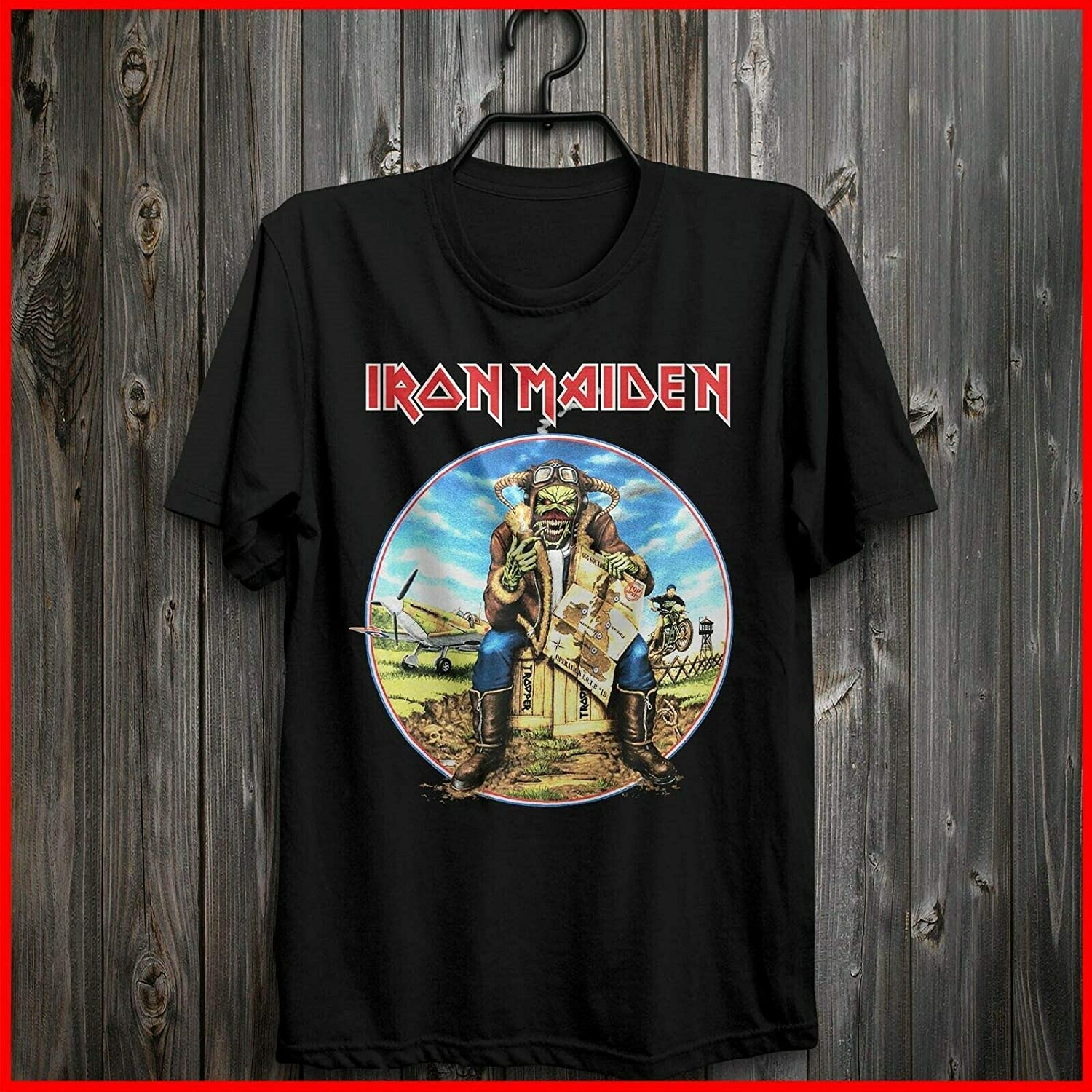 new Iron Maiden Legacy Of The Beast Tour 2019 Black T Shirt