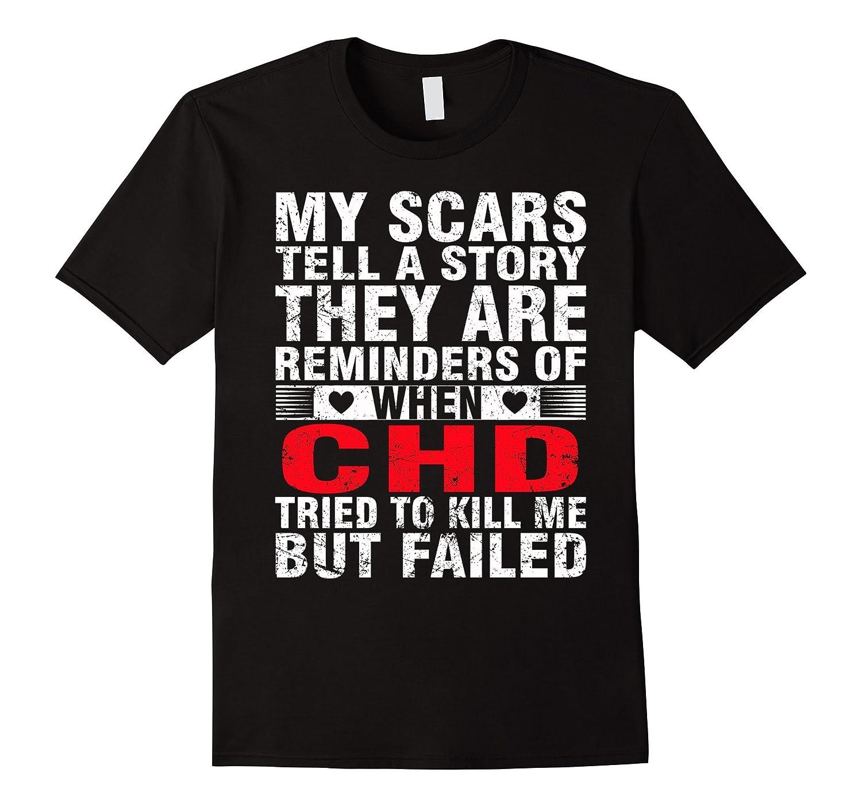 CHD TRIED TO KILL ME BUT FAILED T SHIRT-FL