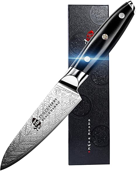 Amazon.com: TUO - Cuchillo pelador ultra afilado (3.5 in ...