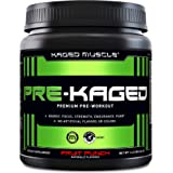 Pre Workout Powder; KAGED MUSCLE Preworkout for Men & Pre Workout Women, Delivers Intense Workout Energy, Focus & Pumps; One