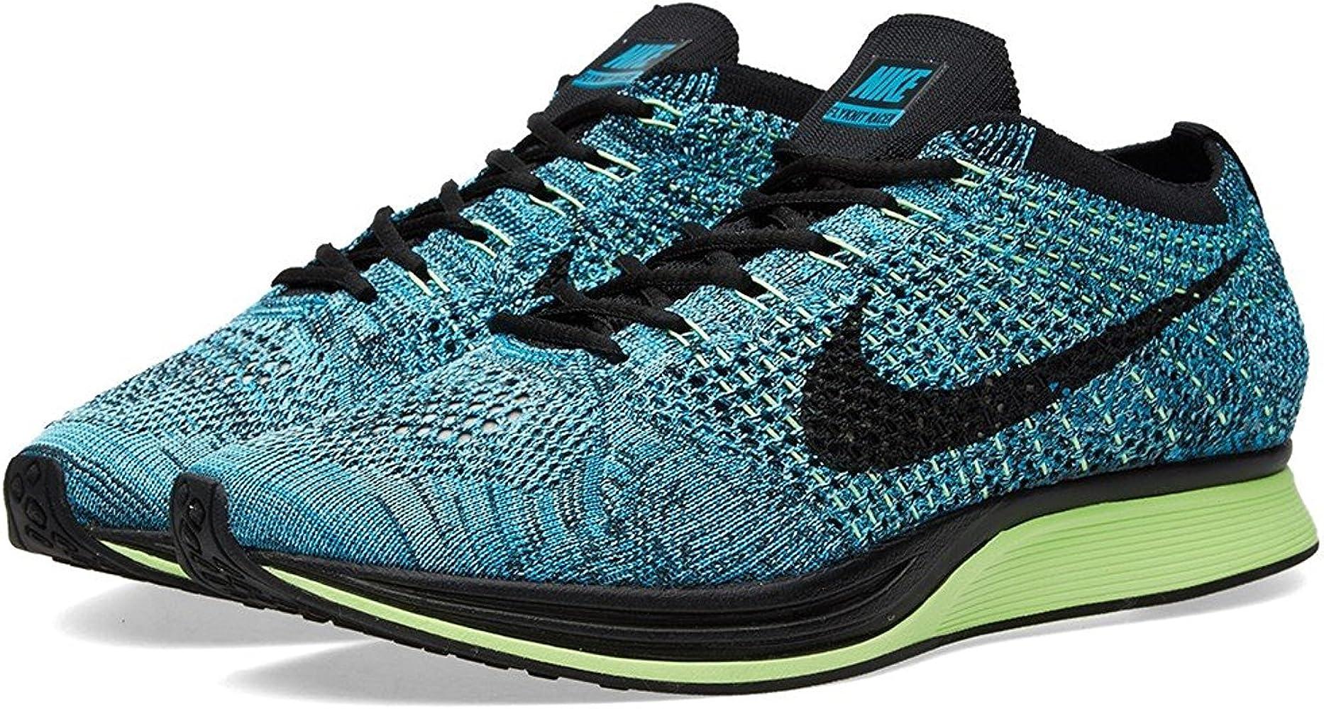 Amazon.com   Nike Flyknit Racer (Blue