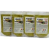 KHADI Omorose Mehendi Hena Leaves Powder -Pack of 4 x 100 g