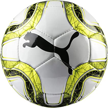 Puma Final 5 HS Trainer Balón de Fútbol, Unisex Adulto, White ...