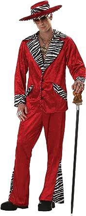 Red Pimp Costume - XL