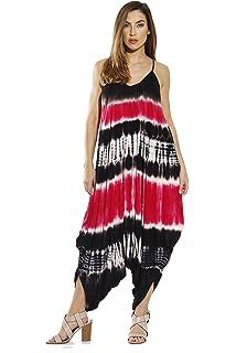 5ceac789cec Amazon.com  Riviera Sun Harem Jumpsuit Jumpsuits for Women Romper ...