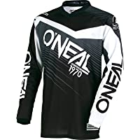 0008-103 - Oneal Element 2018 Racewear Motocross Jersey M Negro Gris