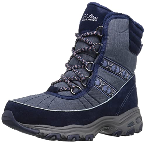 Women's D'Lites-Chateau-Lace up Winter BootNavy6.5 M US