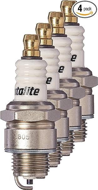 12x Autolite Copper Spark Plugs Non-Resistor Gasket Seat 14mm x 1.25 TP 2976