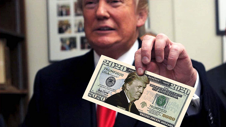 MAGA Donald Trump President 2020 Dollar Bills Pack of 100