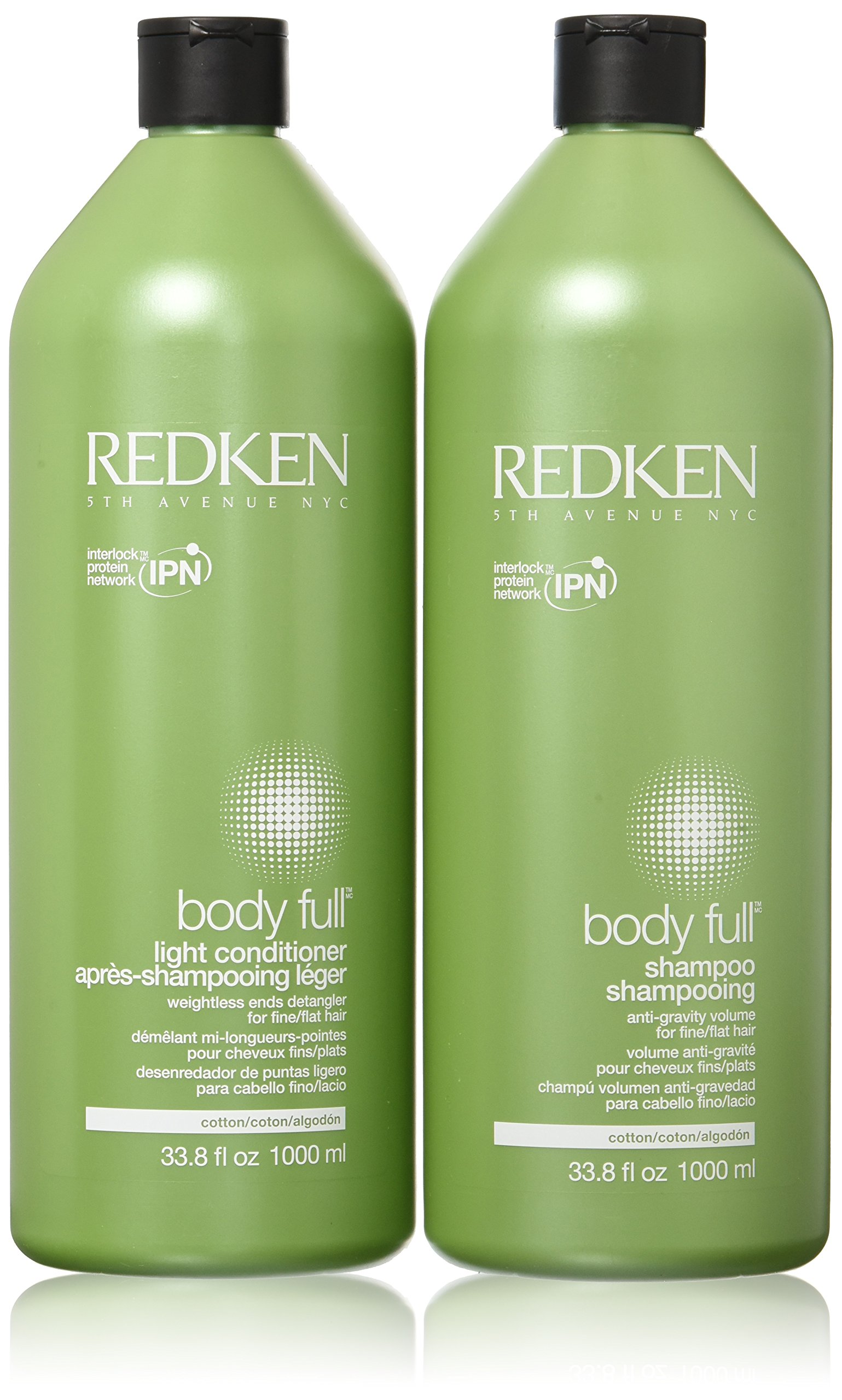 Redken Body Full Shampoo & Conditioner Liter Duo
