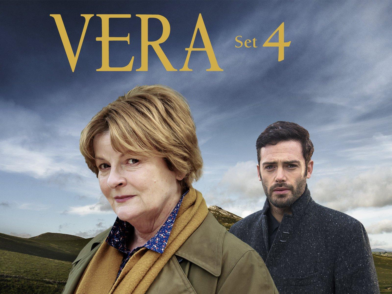 Amazon com: Vera, Series 4: Brenda Blethyn, David Leon