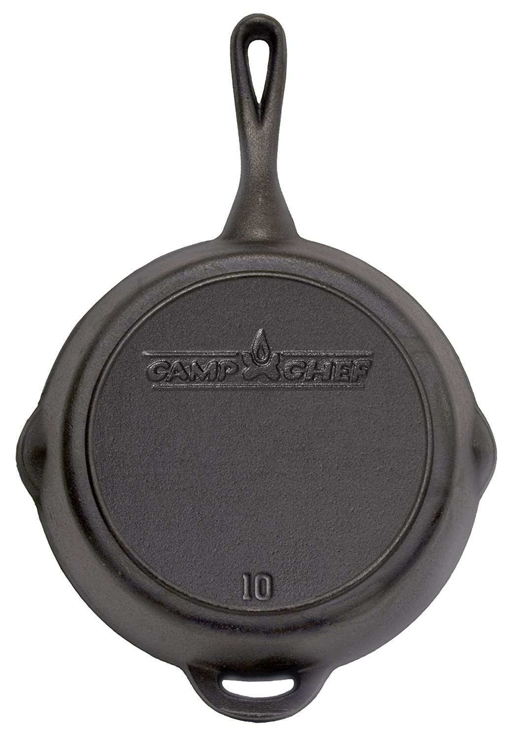 Camp Chef 10 Seasoned Cast Iron Skillet
