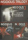 Insidious / Insidious: Chapter 2 - Vol / Insidious: Chapter 3 - Set