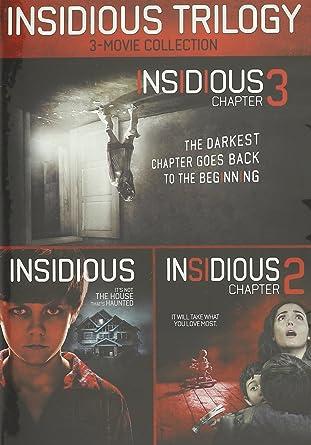 Amazon Com Insidious Insidious Chapter 2 Vol Insidious Chapter 3 Set Insidious Trilogy Movies Tv