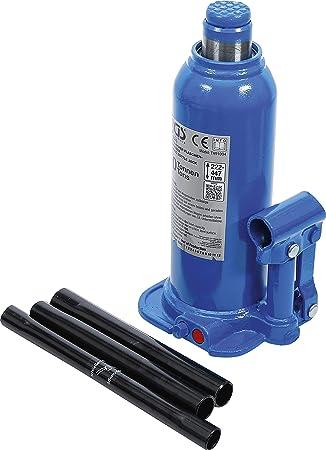 Bgs 9885 Hydraulischer Flaschen Wagenheber 10 T Stempelwagenheber Kompakt Wagenheber Auto