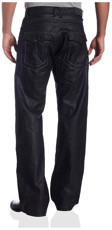 Akademiks Mens Sid Flap Back Pocket Jean