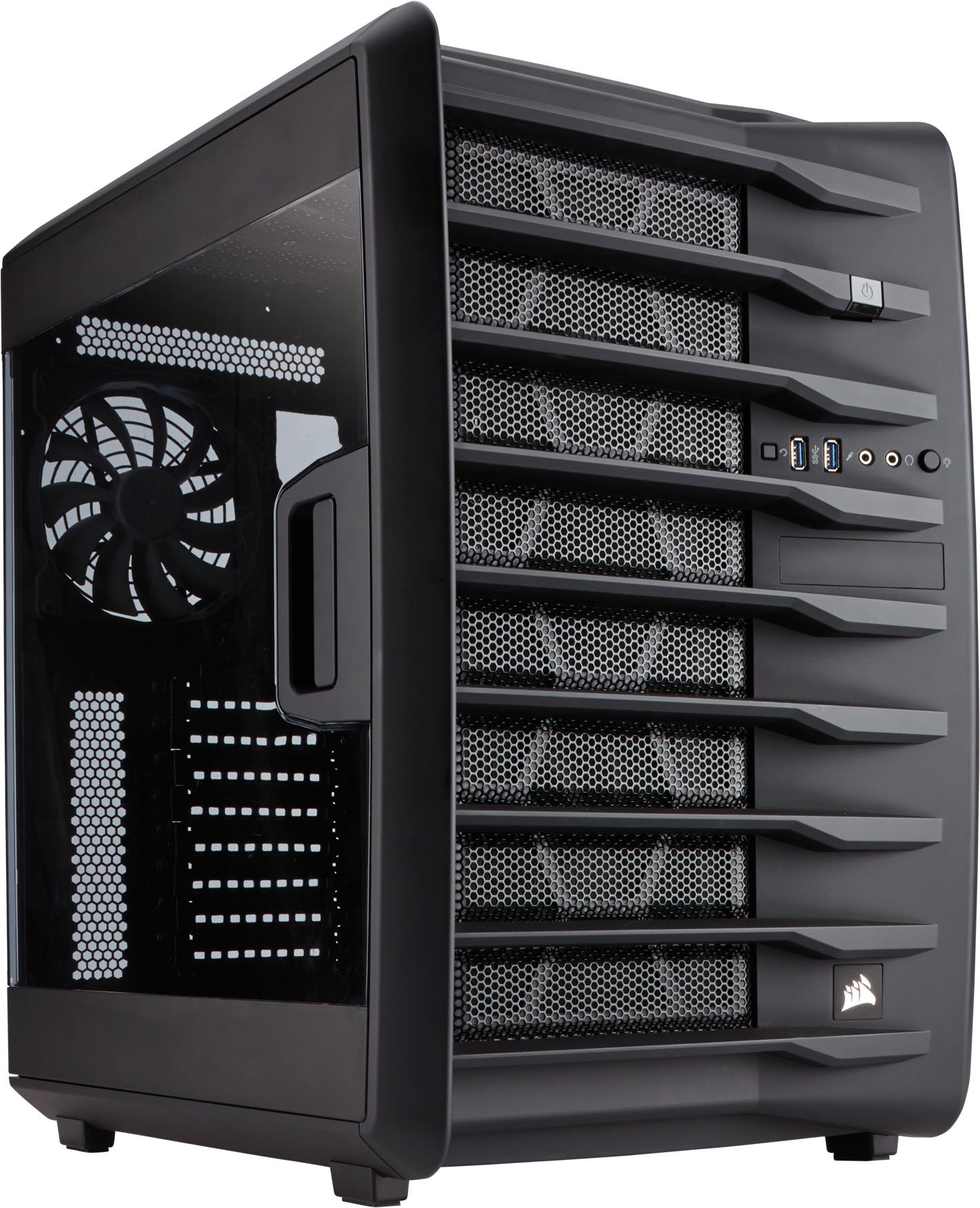 Corsair Carbide Series Air 740 - High Airflow ATX Cube Case (CC-9011096-WW) by Corsair