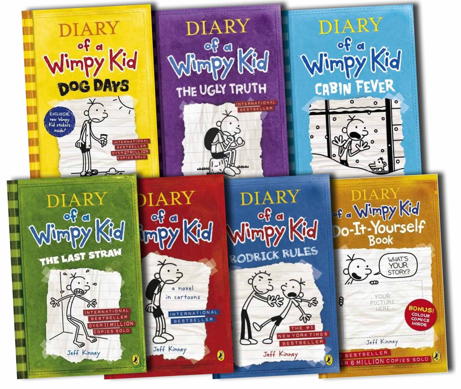 Diary of a wimpy kid collection paperback by jeff kinney diary of a wimpy kid collection paperback by jeff kinney 9780141351698 books amazon solutioingenieria Image collections
