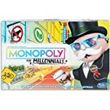 Monopoly for Millennials - Special Edition - Forget Real Estate - You Can't Afford It Anyway - Family Board Games - Ages 8+