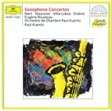 Concertos pour saxophone : Ibert, Glazunov, Villa-Lobos, Dubois