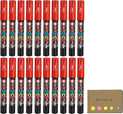 Uni Posca rotulador de pintura PC-1 M, extra de punta fina, tinta ...