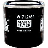Original MANN-FILTER Filtro do Óleo W712/89 VW T-Cross, Nivus, UP, Virtus, Polo, Saveiro,
