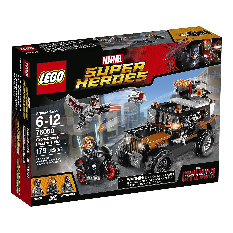 LEGO Super Heroes Crossbones Hazard Heist 76050 by LEGO: Amazon ...